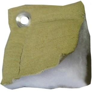 Тент утепленный (термомат) трехслойный брезент 4х8,с люверсами